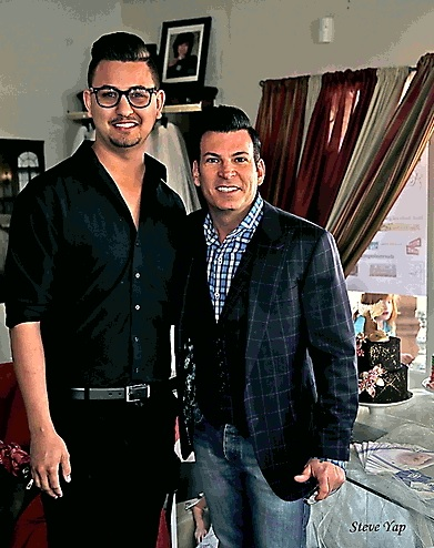 David Tutera Appearance at Roxanne's Couture