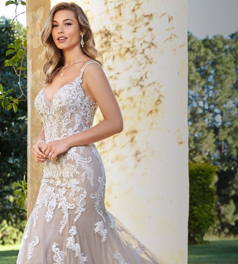 sophia tolli lace wedding dress roxanne's couture in scottsdale arizona